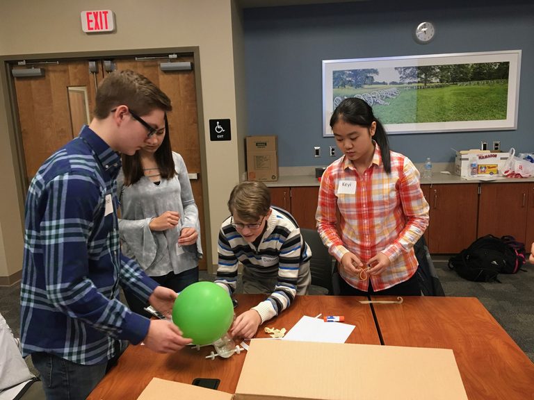 Students compete in STEM tournament