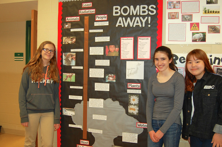Family Fun Night showcases WWII projects