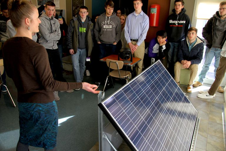 Hands-on learning about solar energy