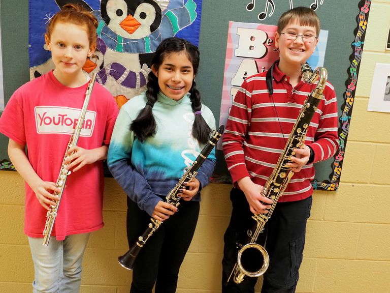 Dock students chosen for PMEA Festival