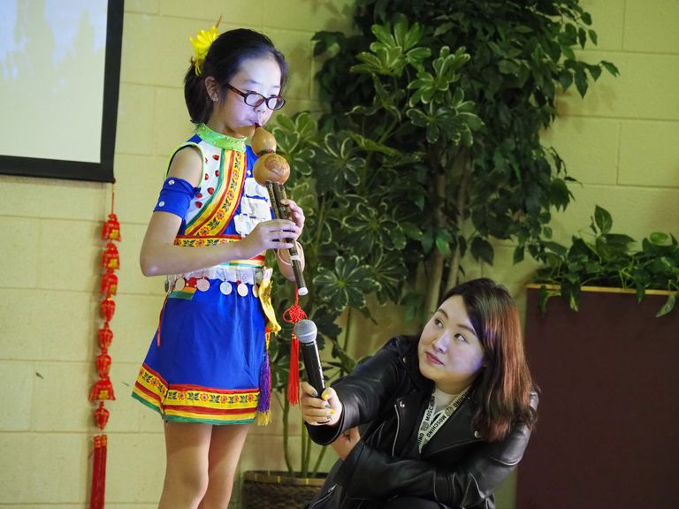 Chinese Winter Camp celebrates New Year